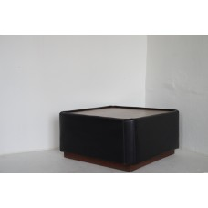 Coffee Table Black Leather