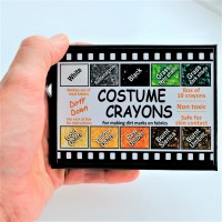 Dirty Down - Costume Crayons – box of 10 crayons